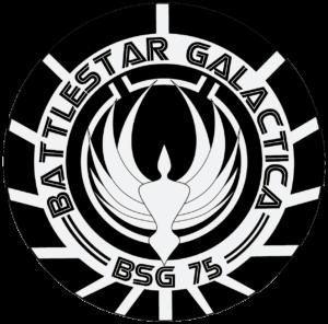 Battlestar Galactica BSG 75 Logo