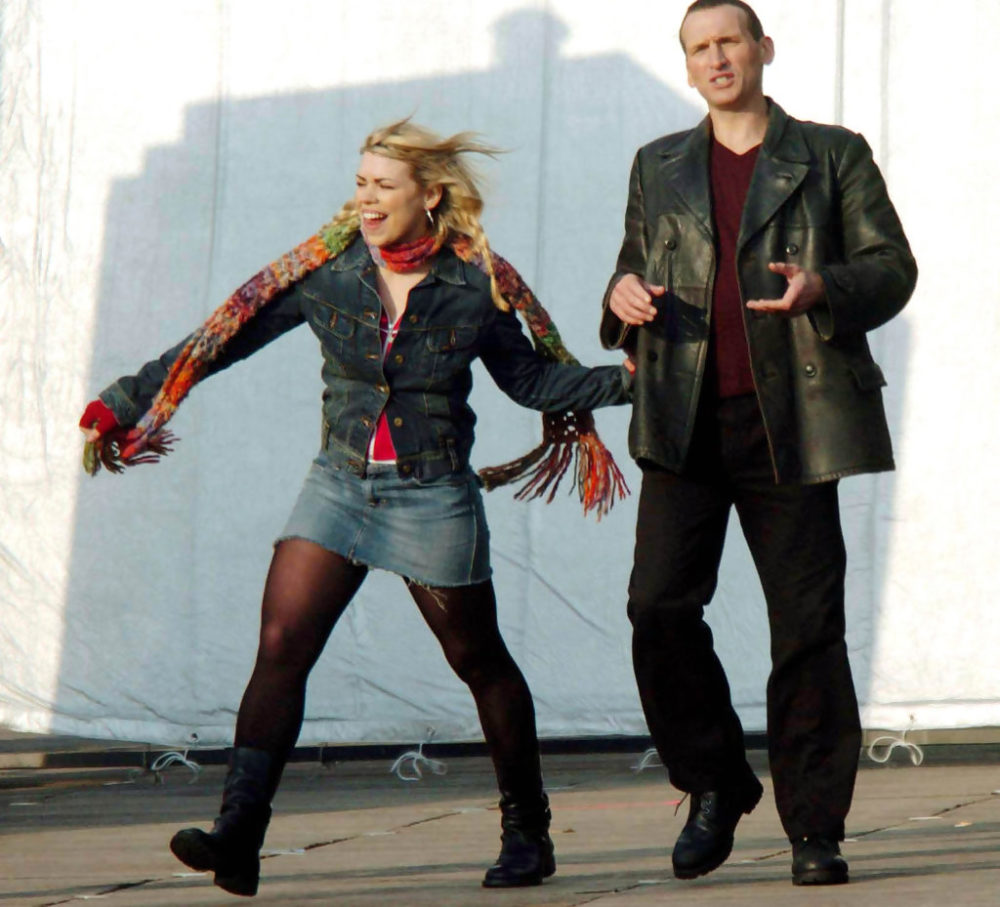 Ninth Doctor Who and Rose