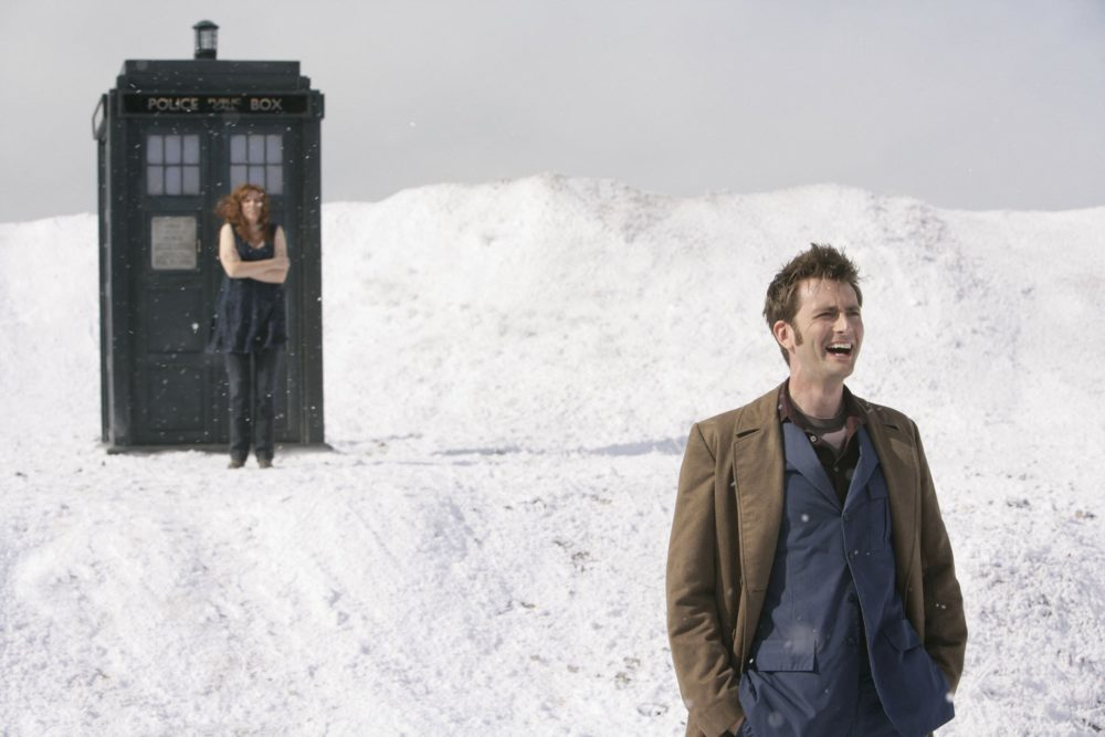 Tenth Doctor Who and Donna - Planet of the Ood