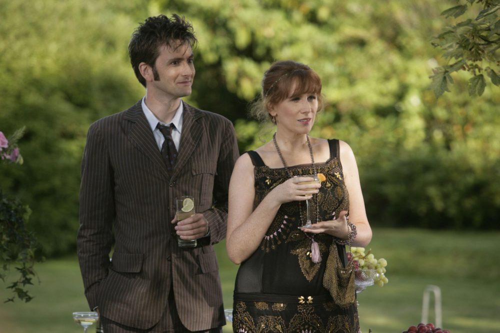 Tenth-Doctor Who and Donna - Unicorn and the Wasp
