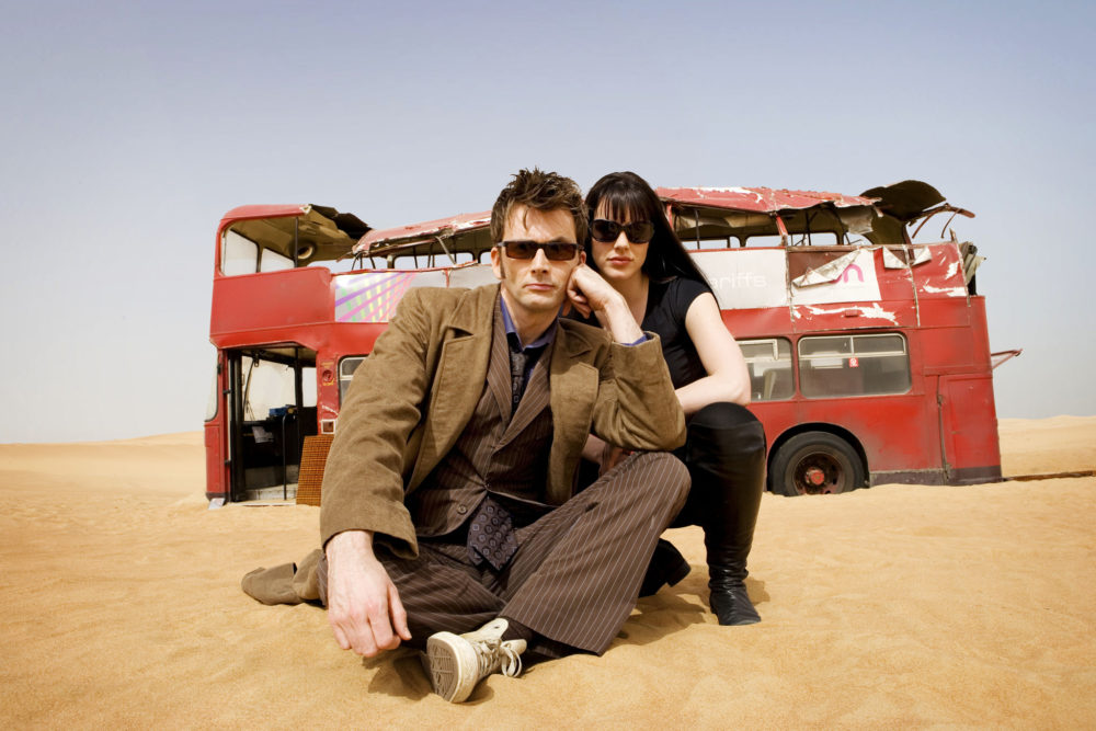 Tenth Doctor and Lady Christina