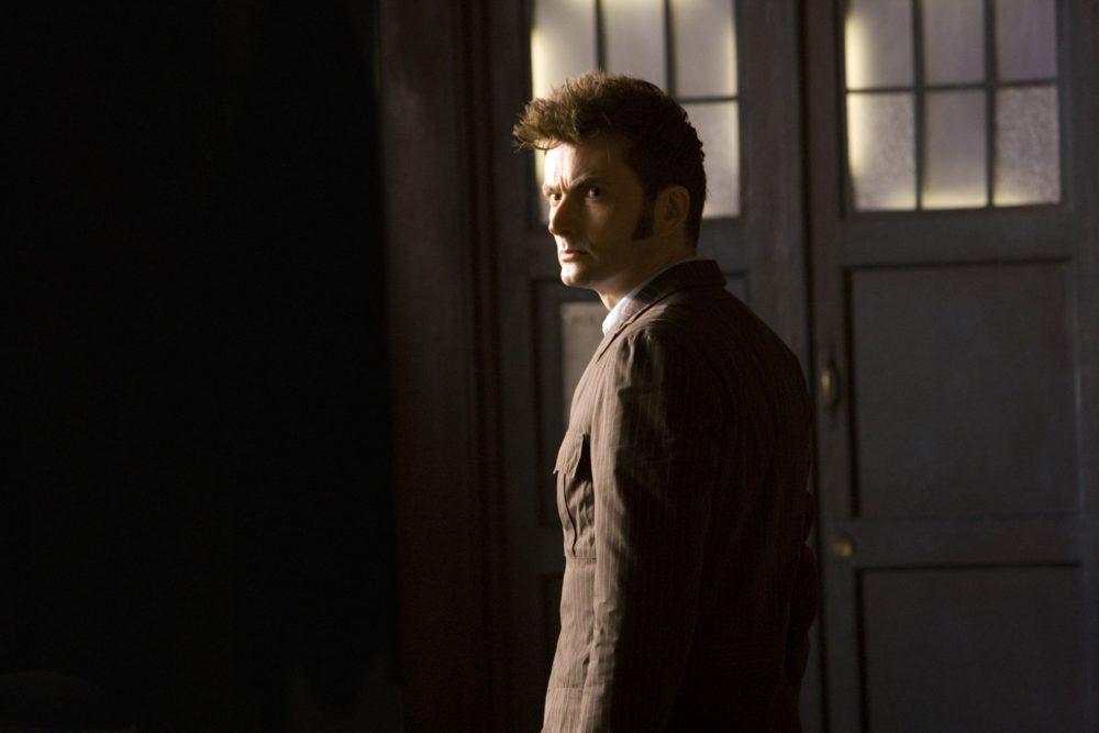 Tenth Doctor TARDIS dark