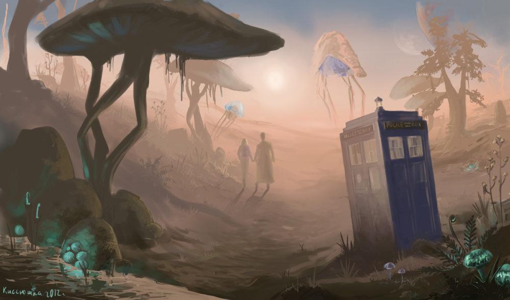 Doctor in Morrowind by kissyushka