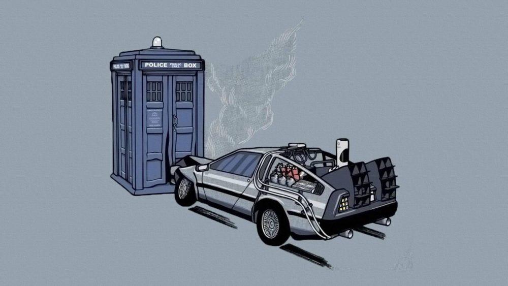 TARDIS vs. DeLorean