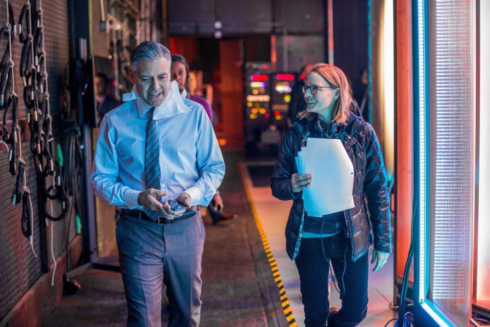 Jodie Foster i George Clooney na planie Money Monster