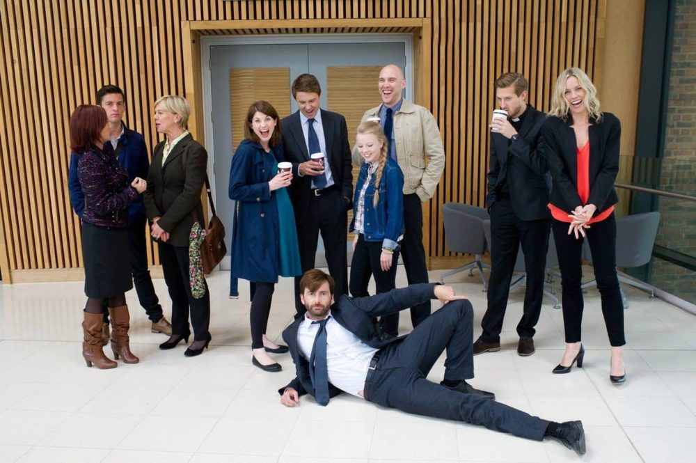 Broadchurch Crew Funny On Set