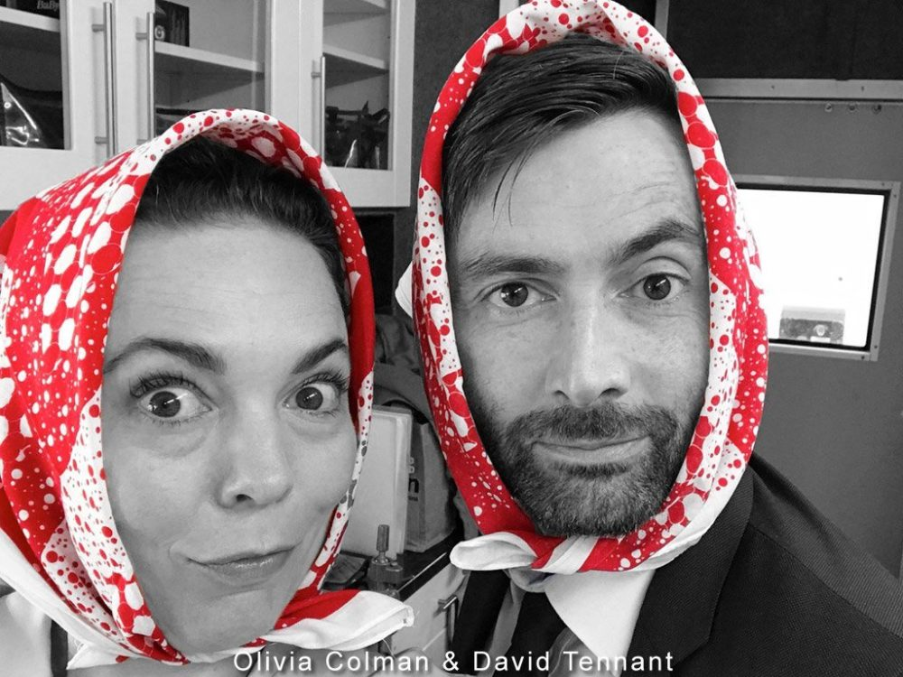 Olivia Colman and David Tennant - No Brainer Campaign