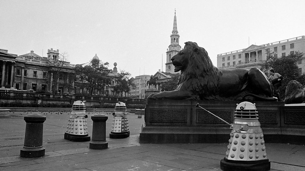 Daleks on Trafalgar Square