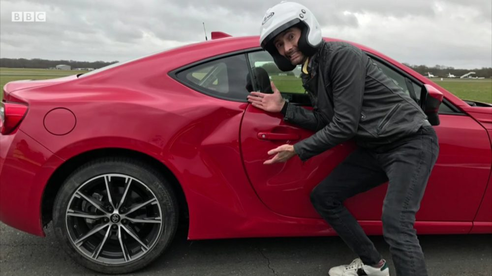 David Tennant in Top Gear 2017