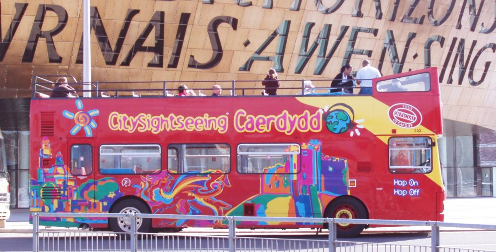 Hop-on Hop-off Bus Cardiff