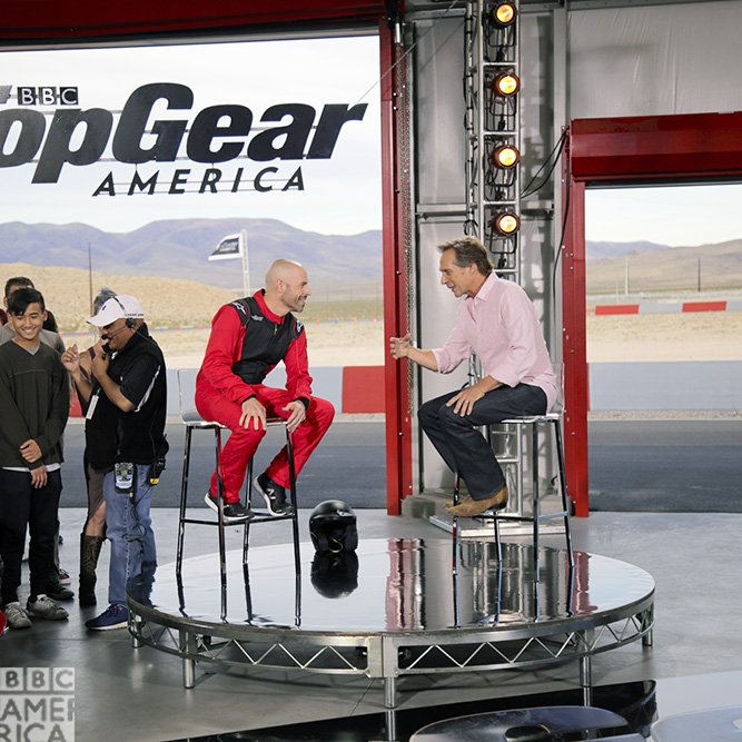 Top Gear America - Studio - William Fichtner