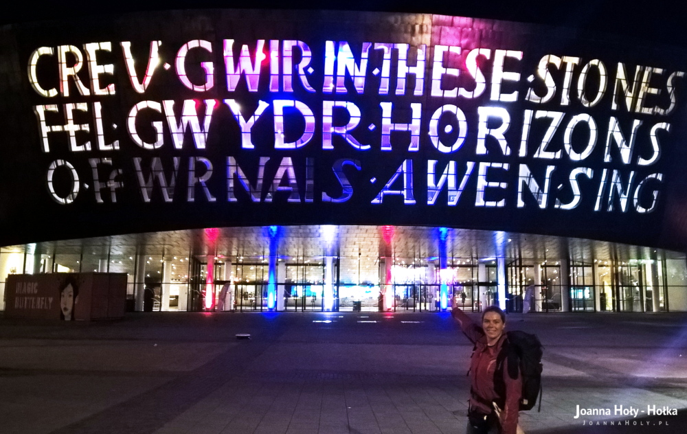 Wales Millennium Centre i ja