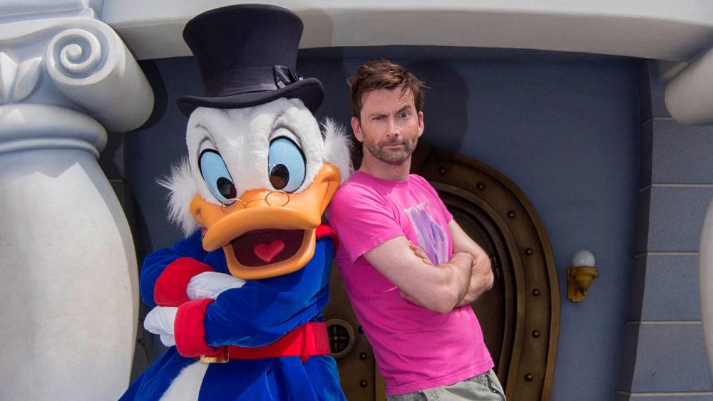 David Tennant Scrooge McQuack Disneyland