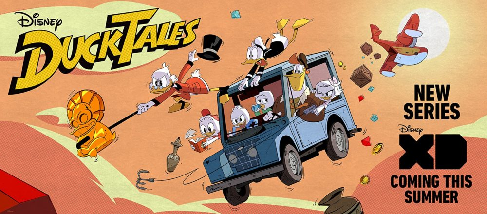 Duck Tales Poster