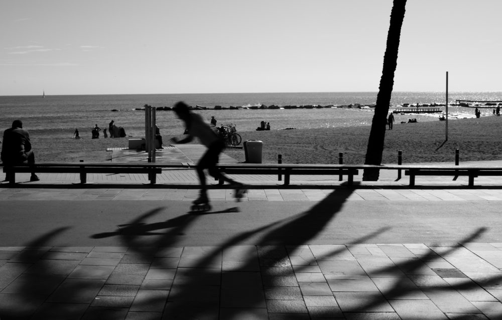 Barcelona Beach by Carlos Pernalete Tua