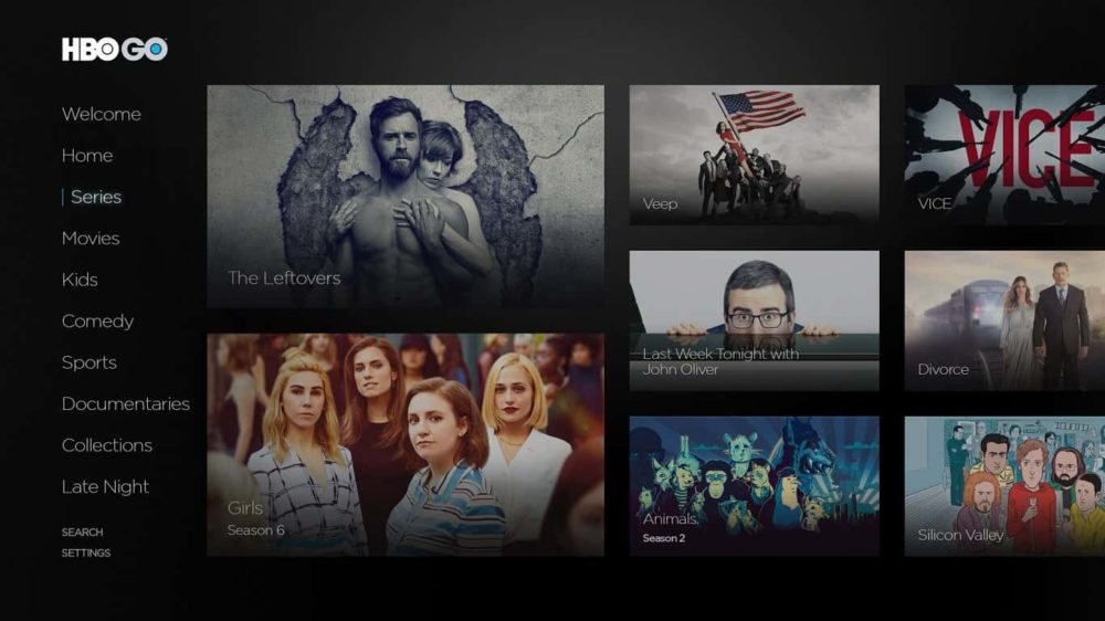 HBO interface
