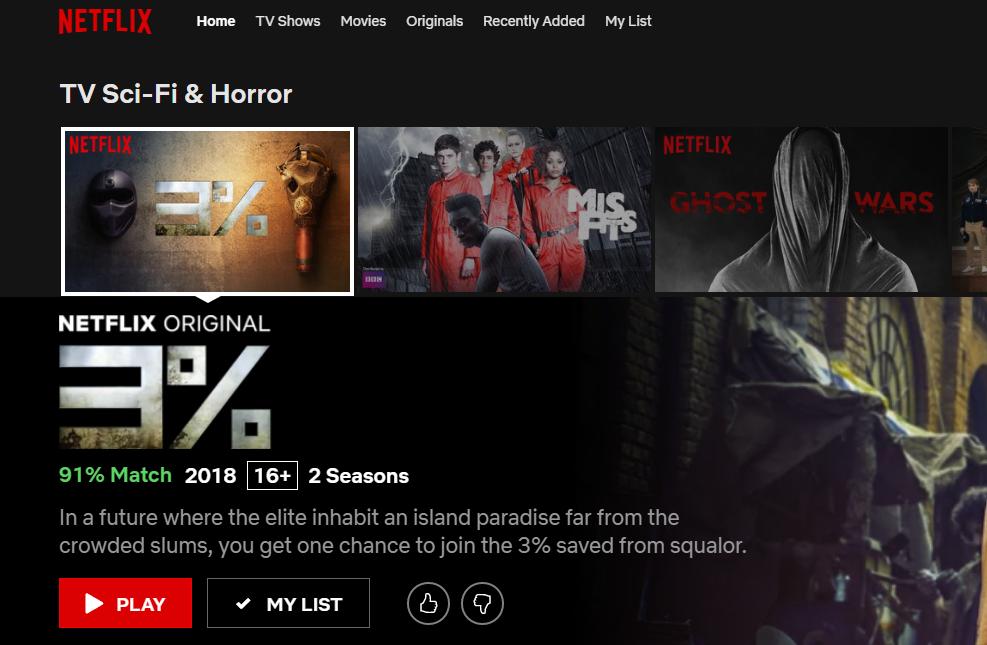 Netflix match
