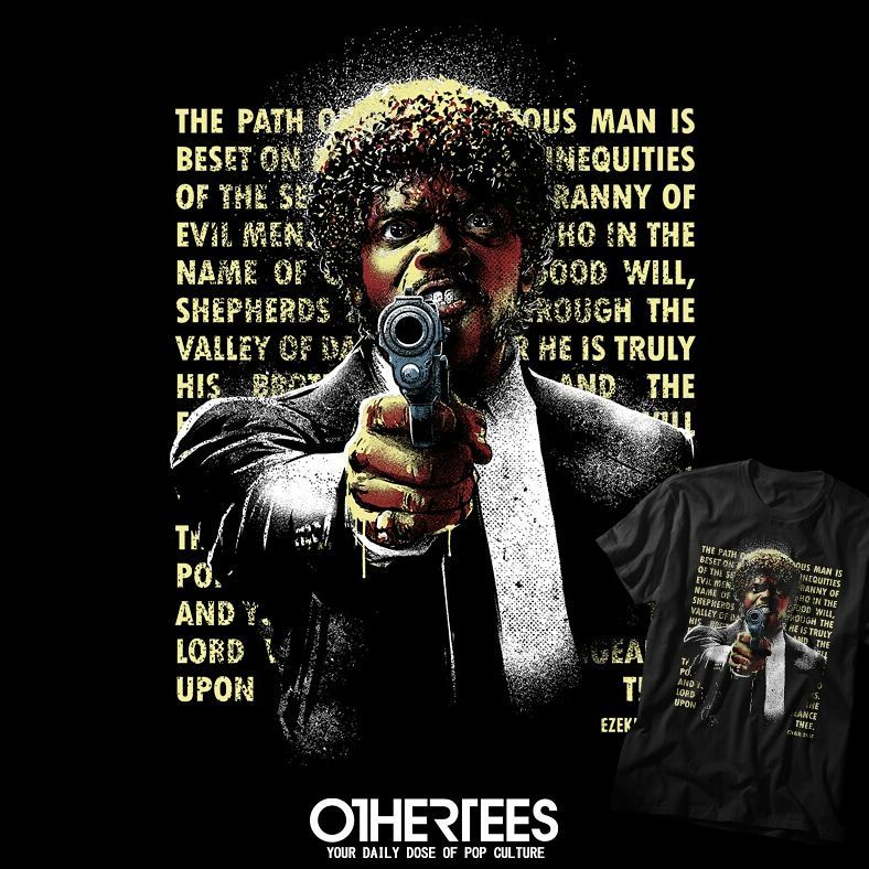 OtherTees Pulp Fiction Jules