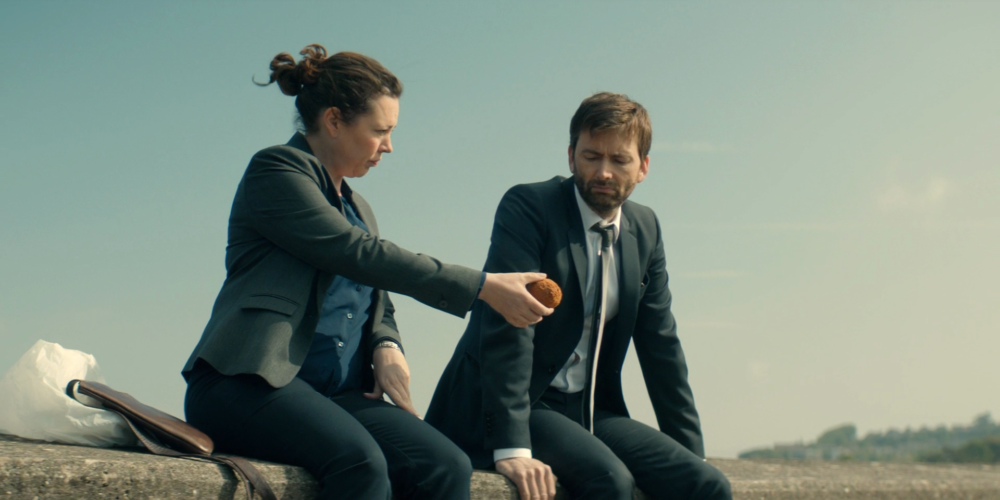 Broadchurch - Scotch egg scene