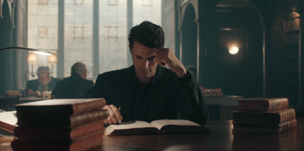 Discovery of Witches - Matthew Goode and books