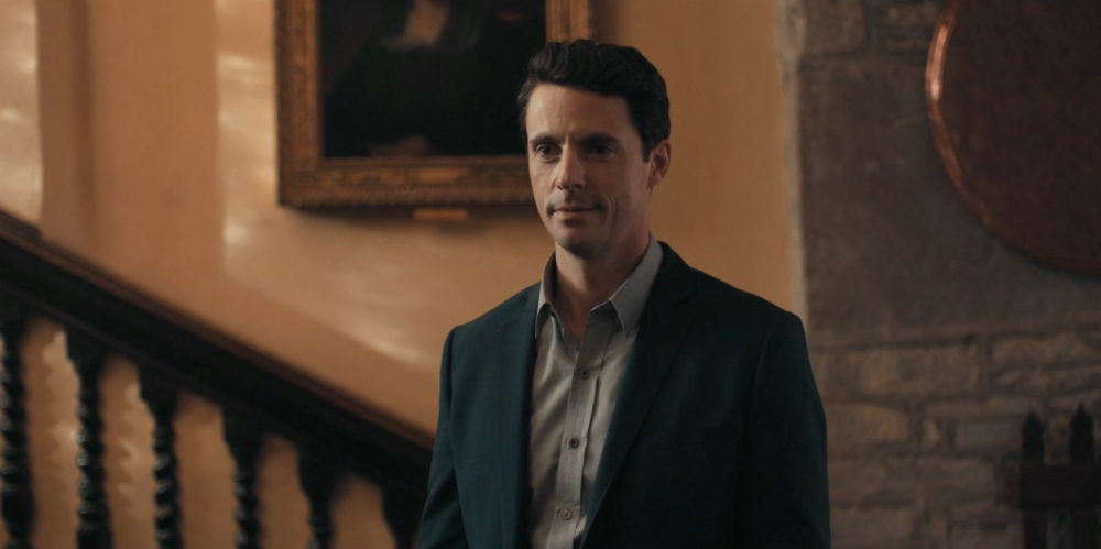 Discovery of Witches - Matthew Goode smile