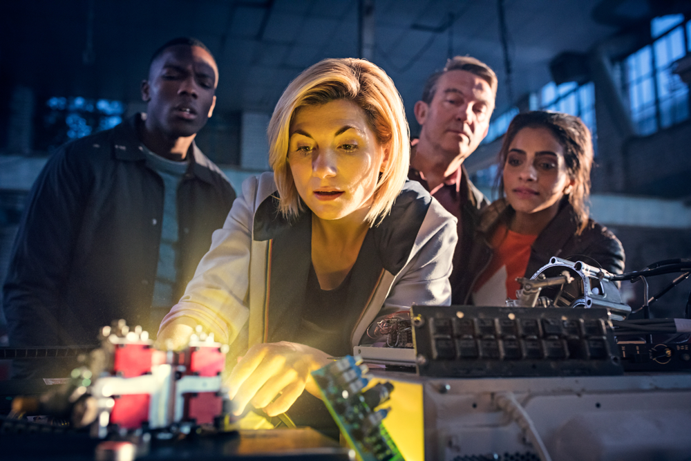Doctor Who - Thirteen and companions