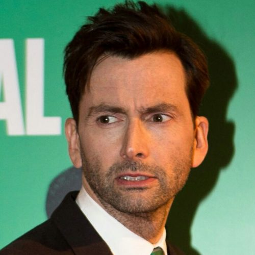David Tennant not smile