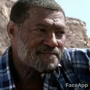 Laurence Fishburne old after FaceApp