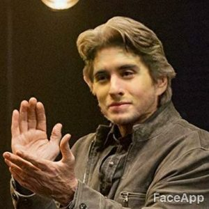 Michael Douglas young after FaceApp