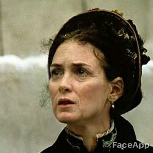 Winona Ryder old after FaceApp