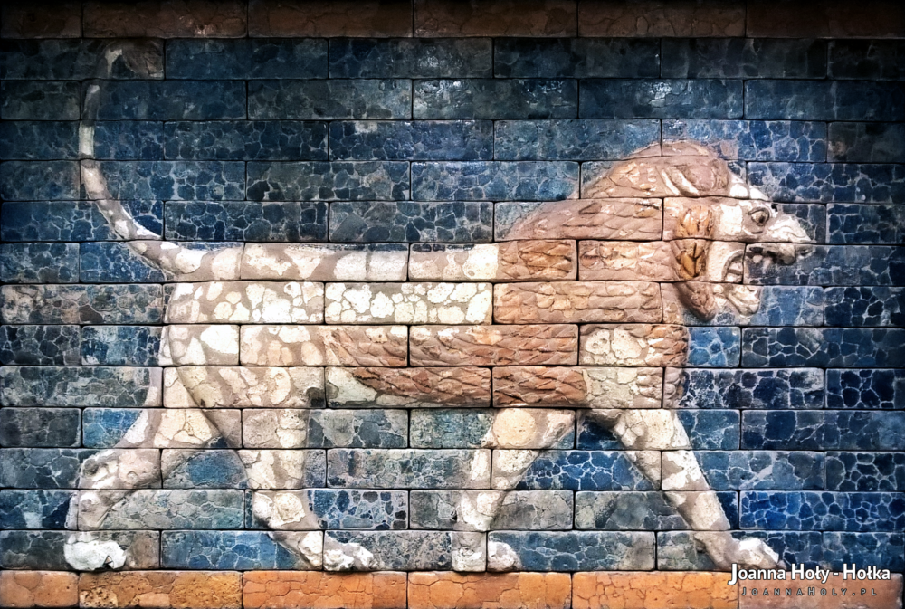 British Museum Lion Mosaic from Nebuchadnezzar II's Babylon