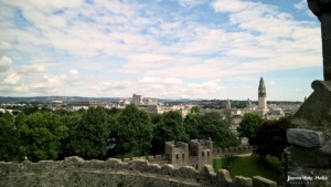 Cardiff Castle - View from Keep