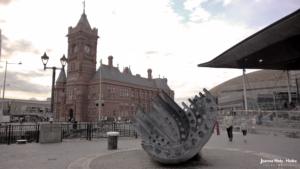 Cardiff Merchant Seamen's Memorial - Ship