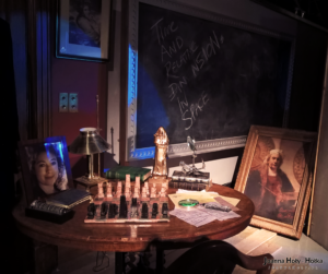 Twelfth Doctor Who university desk