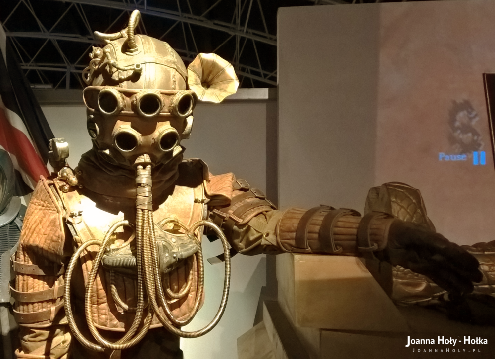 Twelfth Doctor Who Victorian diving suit