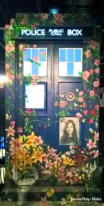TARDIS with Clara picutre