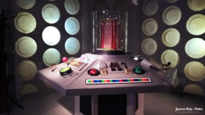 Classic Doctor Who TARDIS interior