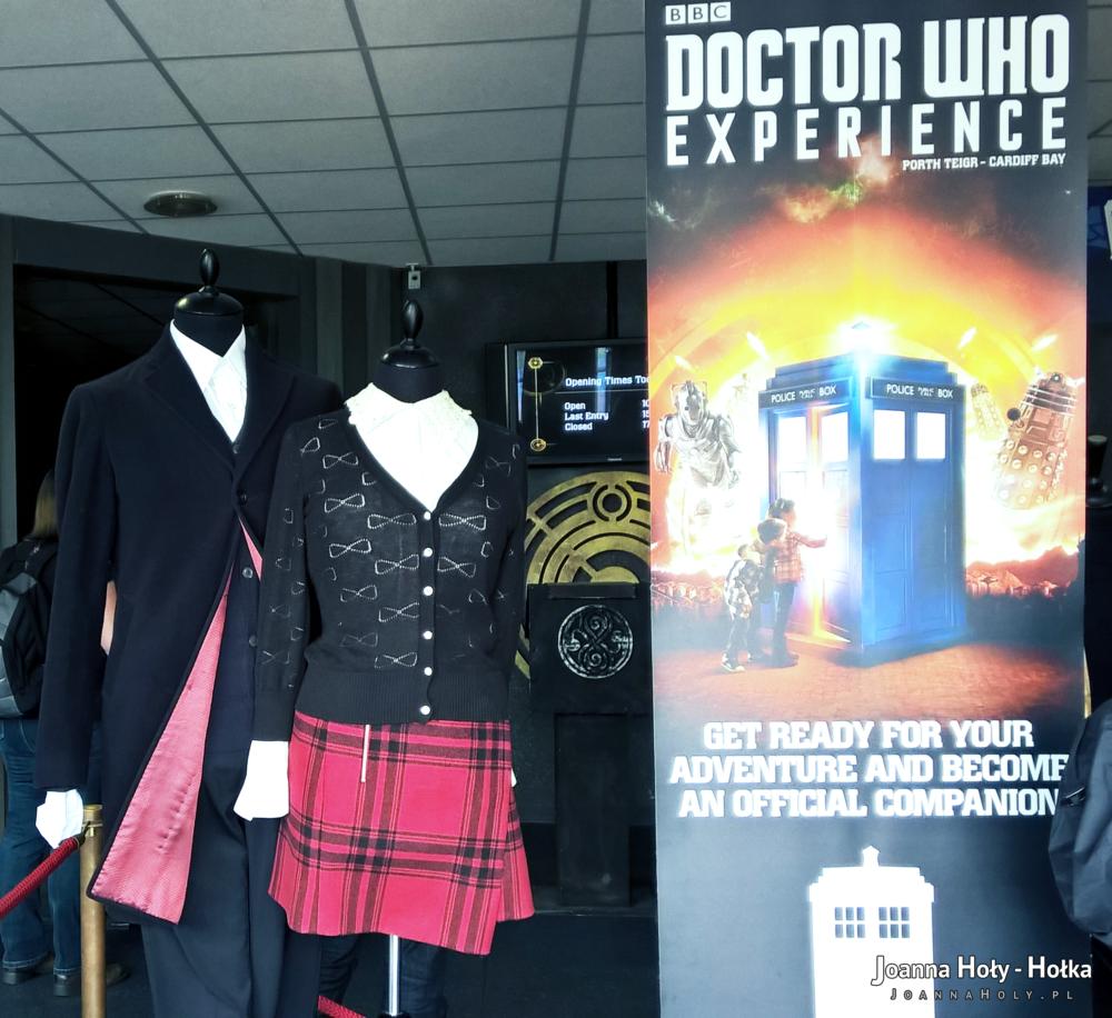 Doctor Clara Doctor Who Experience dummies
