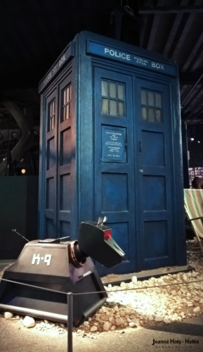 Fourth Doctor TARDIS and K-9