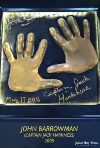 Odciski dłoni Johna Barrowmana