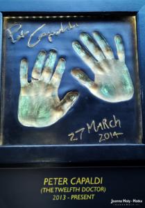 Odciski dłoni Petera Capaldiego