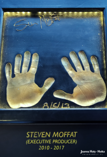 Odciski dłoni Stevena Moffata