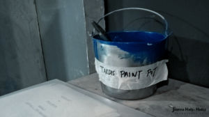 TARDIS paint pot