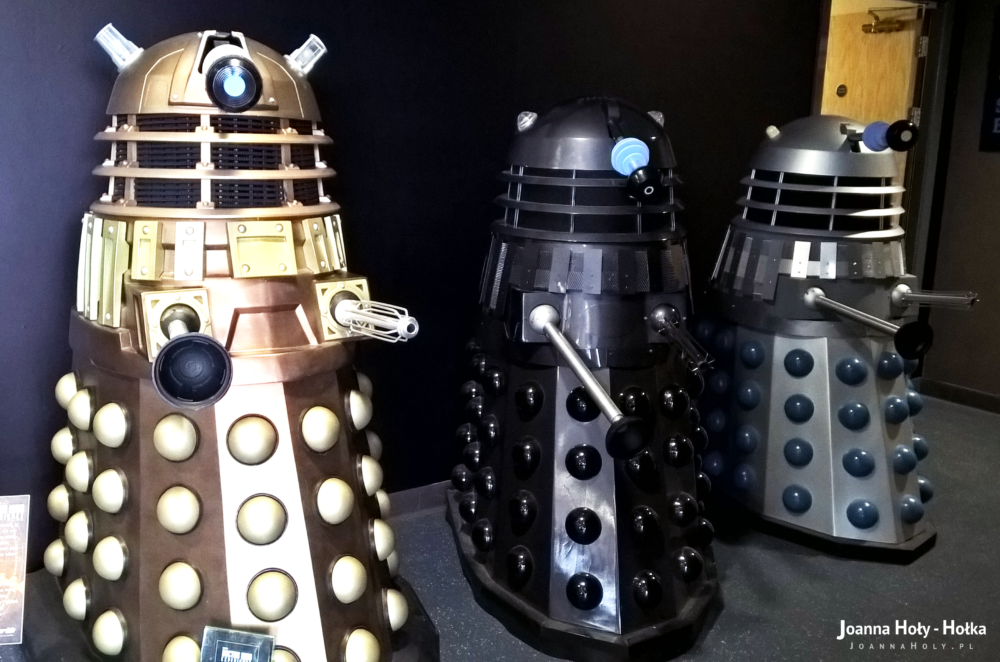 Three Daleks