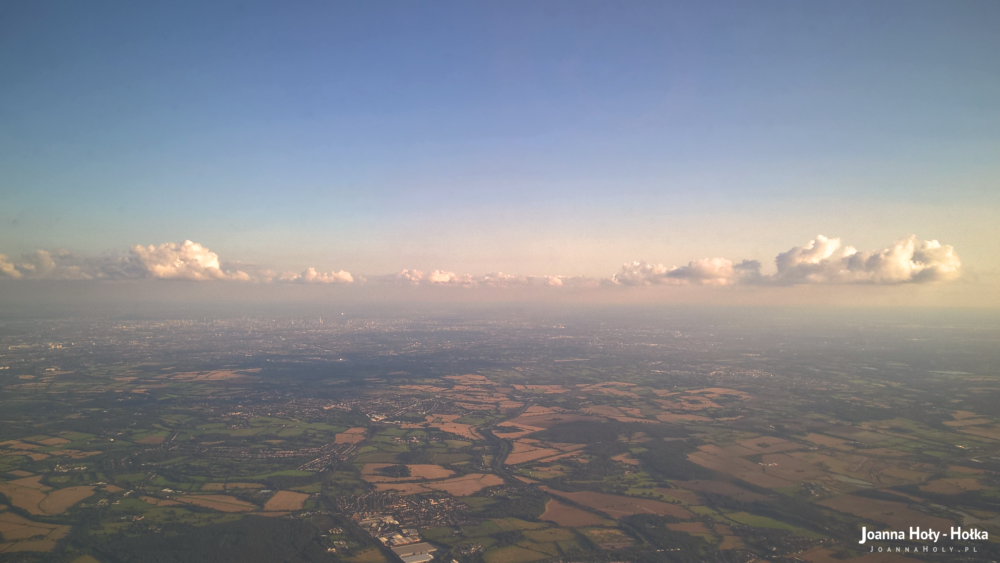 London from plane