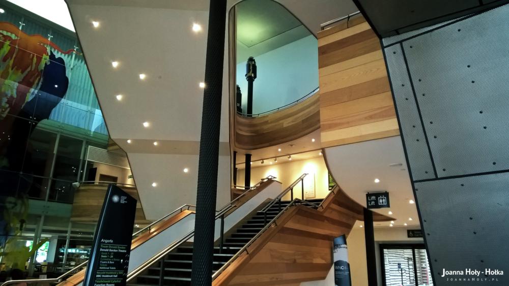 Wales Millennium Center inside